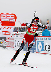 11.12.2011, Biathlonzentrum, Hochfilzen, AUT, E.ON IBU Weltcup, 2. Biathlon, Hochfilzen, Staffel Herren, im Bild Landertinger Dominik (Team Austria) // during Team Relay E.ON IBU World Cup 2th Biathlon, Hochfilzen, Austria on 2011/12/11. EXPA Pictures © 2011. EXPA Pictures © 2011, PhotoCredit: EXPA/ nph/ Straubmeier..***** ATTENTION - OUT OF GER, CRO *****