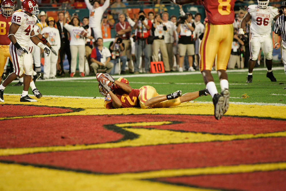 2005 ORANGE BOWL - Oklahoma vs Southern California (USC)