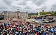 "QUEEN DIAMOND JUBILEE.The massed crowds around Buckingham Palace that turned out to witness the procession and flypast in celebration of the Queen's Diamond Jubilee_5th June 2012.Mandatory Credit Photo: ©L Cash/NEWSPIX INTERNATIONAL..**ALL FEES PAYABLE TO: ""NEWSPIX INTERNATIONAL""**..IMMEDIATE CONFIRMATION OF USAGE REQUIRED:.Newspix International, 31 Chinnery Hill, Bishop's Stortford, ENGLAND CM23 3PS.Tel:+441279 324672  ; Fax: +441279656877.Mobile:  07775681153.e-mail: info@newspixinternational.co.uk"