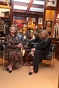 LADY PAMELA HICKS; INDIA HICKS;, Book launch for ' Daughter of Empire - Life as a Mountbatten' by Lady Pamela Hicks. Ralph Lauren, 1 New Bond St. London. 12 November 2012.