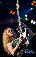 Janick Gers and Iron Maiden perform at Madison Square Garden.