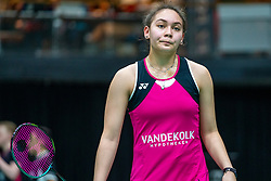 Jaymie Laurens during the Dutch Championships Badminton on February 1, 2020 in Topsporthal Almere, Netherlands