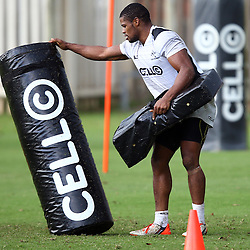 DURBAN, SOUTH AFRICA, 17 November 2015 - S'bura Sithole during The Pre-season training squad and coaching team announcement at Growthpoint Kings Park in Durban, South Africa. (Photo by Steve Haag)<br /> images for social media must have consent from Steve Haag