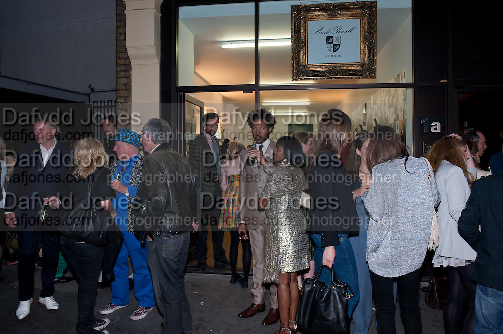 A Celebration of Style; cool London through the Photographer's lens. Curated by Sandra Higgins. Mark Powell. Marshall St. London. 20 June 2010. -DO NOT ARCHIVE-© Copyright Photograph by Dafydd Jones. 248 Clapham Rd. London SW9 0PZ. Tel 0207 820 0771. www.dafjones.com.
