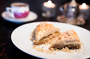 Baklava and Turkish coffee at Meze Mediterranean Cuisine in Sun Praire, WI on Thursday, May 2, 2019.