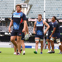 Paddy Ryan of the NSW Waratahs during the NSW Waratahs Cap Run at  Growthpoint Kings Park Durban , South Africa. March 9th 2017(Photo by Steve Haag)<br /> <br /> images for social media must have consent from Steve Haag