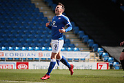 Chesterfield forward Kristian Dennis (9)  rues a missed chance during the EFL Sky Bet League 2 match between Chesterfield and Notts County at the Proact stadium, Chesterfield, England on 25 March 2018. Picture by Nigel Cole.