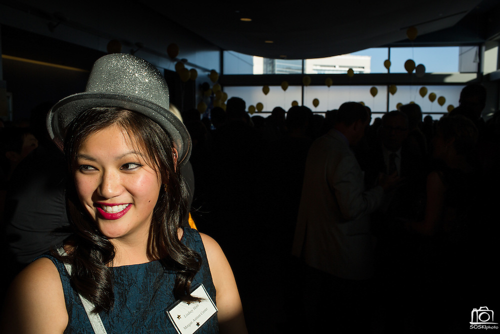 Morgan Autism Center hosts its 3rd Annual Starry Starry Night auction and fundraising event at the Fourth Street Summit Center in San Jose, California, on May 2, 2015. (Stan Olszewski/SOSKIphoto)