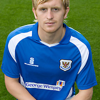 St Johnstone Photocall..2008-09 Season<br /> Liam Craig<br /> Picture by Graeme Hart.<br /> Copyright Perthshire Picture Agency<br /> Tel: 01738 623350  Mobile: 07990 594431
