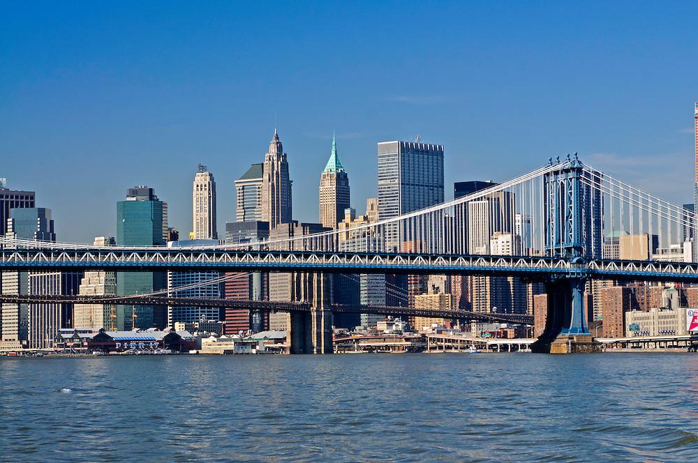 Manhattan Bridge, Connecting Manhattan and Brooklyn, New York City, New York