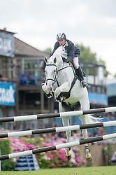 Bles Bart (NED) - Zidane<br /> Speed Class<br /> International Horse Show - Hickstead 2014<br /> © Hippo Foto - Jon Stroud