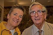 Denis Healey, President of the Seaford Photographic Society. Seaford Photographic Exhibition 2012 in The Crypt, Seaford, East Sussex 25 August - 09 September