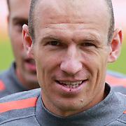 NLD/Katwijk/20110808 - Training Nederlands Elftal voor duel Engeland - Nederland, Arjen Robben