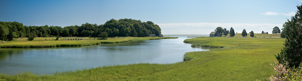 The Salt Pond area of Cape Cod National Seashore is scenic at any time of the year, but the marsh grass is particularly colorful as summer moves toward autumn.