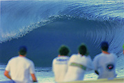 Tahiti Teahupo'o <br /> The first WCT event held there , and the waves turned on, amazing the surfing world.