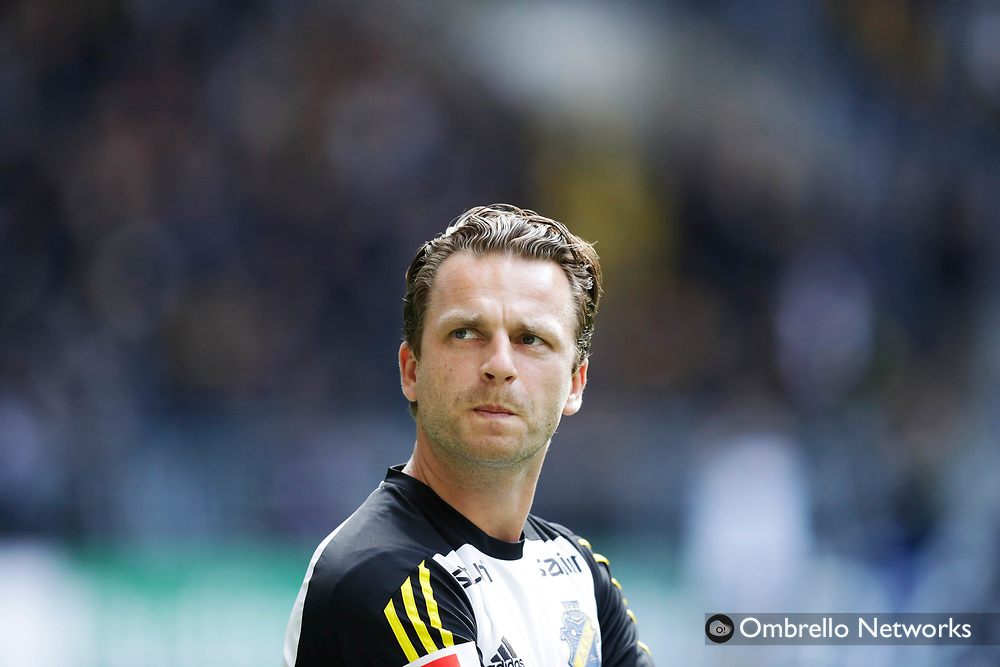 STOCKHOLM, SWEDEN - SEPTEMBER 10: Bartosz Grzelak, assistant coach of AIK during the Allsvenskan match between Hammarby IF and AIK at Tele2 Arena on September 10, 2017 in Stockholm, Sweden. Foto: Nils Petter Nilsson/Ombrello