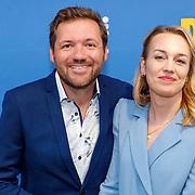 NLD/Amsterdam/20180917 - Premiere Doris, Klaas van der Eerden en partner Anna de Beus