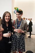 MEL ROCHESTER; ANNA KOMPANIELO, Editor of Wallpaper: Tony Chambers and architect Annabelle Selldorf host drinks to celebrate the collaboration between the architect and three of Savile Row's finest: Hardy Amies, Spencer hart and Richard James. Hauser and Wirth Gallery. ( Current show Isa Genzken. ) savile Row. London. 9 January 2012.