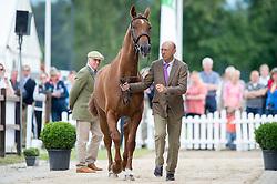 Levett William, (AUS), Alexander NJ<br /> First Horse Inspection <br /> CCI4* Luhmuhlen 2016 <br /> © Hippo Foto - Jon Stroud