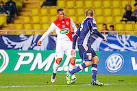 Cedric Cambon / Anthony Martial  - 21.01.2015 - Monaco / Evian Thonon   - Coupe de France 2014/2015<br /> Photo : Sebastien Nogier / Icon Sport