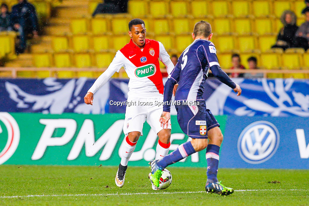 Cedric Cambon / Anthony Martial  - 21.01.2015 - Monaco / Evian Thonon   - Coupe de France 2014/2015<br /> Photo : Sebastien Nogier / Icon Sport