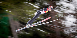 17.01.2014, Casino Arena, Seefeld, AUT, FIS Nordische Kombination, Seefeld Triple, Skisprung, im Bild Mario Stecher (AUT) // Mario Stecher (AUT) during Ski Jumping at FIS Nordic Combined World Cup Triple at the Casino Arena in Seefeld, Austria on 2014/01/17. EXPA Pictures © <br /> 2014, PhotoCredit: EXPA/ JFK