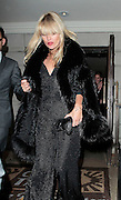 01.NOVEMBER.2010. LONDON<br /> <br /> KATE MOSS EATS OUT AT CHINA TANG WITH HER MOTHER AFTER THE LAUNCH OF HER FINAL COLLECTION FOR TOPSHOP. <br /> <br /> BYLINE: EDBIMAGEARCHIVE.COM<br /> <br /> *THIS IMAGE IS STRICTLY FOR UK NEWSPAPERS AND MAGAZINES ONLY*<br /> *FOR WORLD WIDE SALES AND WEB USE PLEASE CONTACT EDBIMAGEARCHIVE - 0208 954 5968*