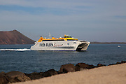 Fred Olsen Express ferry ship, Corralejo, Fuerteventura, Canary Islands, Spain