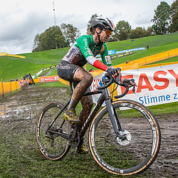 2019-10-19: Cycling: Superprestige: Boom: Eva Lechner managed to gain a second place after a tough race in Boom