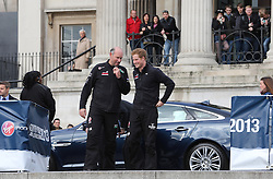 Prince Harry arrives for the Walking With The Wounded South Pole Allied Challenge launch in London, Thursday, 14th November 2013. Picture by Stephen Lock / i-Images