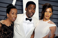 Rosalie Rock, Chris Rock arrives at the 2016 Vanity Fair Oscar Party Hosted By Graydon Carter at Wallis Annenberg Center for the Performing Arts on February 28, 2016 in Beverly Hills, California. EXPA Pictures © 2016, PhotoCredit: EXPA/ Photoshot/ Dennis Van Tine<br />
