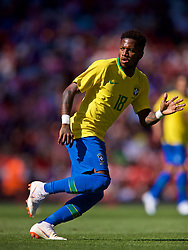 LIVERPOOL, ENGLAND - Sunday, June 3, 2018: Brazil's Frederico Rodrigues de Paula Santos 'Fred' during an international friendly between Brazil and Croatia at Anfield. (Pic by David Rawcliffe/Propaganda)