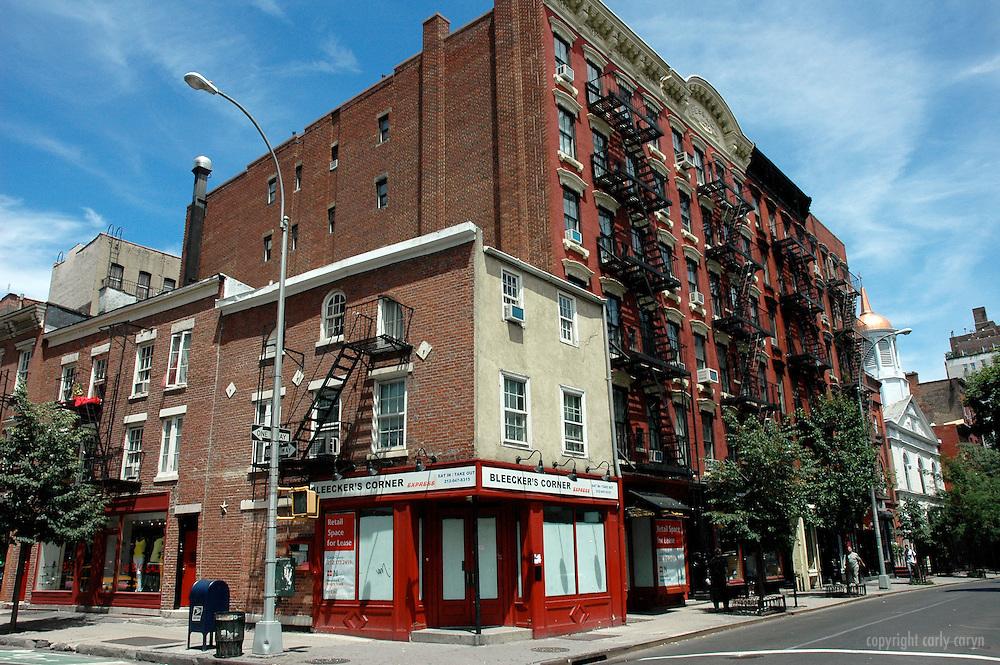 Bleecker's Corner, Greenwich Village