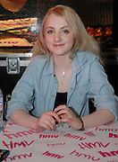 Picture by Mark Larner / Retna Pictures. Picture shows Evanna Lynch at the Bluray and DVD release of Harry Potter and the Half Blood Prince at HMV, Oxford Street, London. December 6th, 2009.