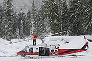 Canadian Mountain Holidays (CMH) Nomads private heliski tour 2020, pilot Trevor
