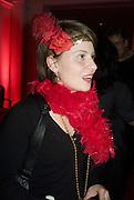 CARLIN HENDRIX, Cointreau and Dita von Teese event. 1 Marlebone Rd. London. 13 December 2007. -DO NOT ARCHIVE-© Copyright Photograph by Dafydd Jones. 248 Clapham Rd. London SW9 0PZ. Tel 0207 820 0771. www.dafjones.com.