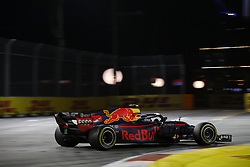 September 16, 2018 - Singapore, Singapore - Motorsports: FIA Formula One World Championship 2018, Grand Prix of Singapore, .#33 Max Verstappen (NLD, Aston Martin Red Bull Racing) (Credit Image: © Hoch Zwei via ZUMA Wire)