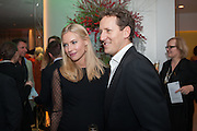 ZOE COLE; BRENDAN COLE, English National Ballet's celebrates their Christmas season at the London Coliseum,  St Martins Lane hotel. London. 13 December 2012.