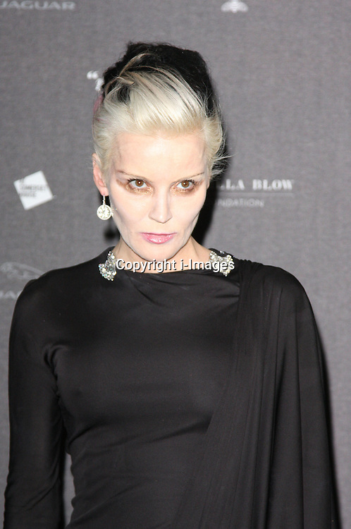 Daphne Guiness  arriving at the opening of the  Isabella Blow at the Isabella Blow exhibition at Somerset House in London, Tuesday, 19th November 2013   Photo by: i-Images