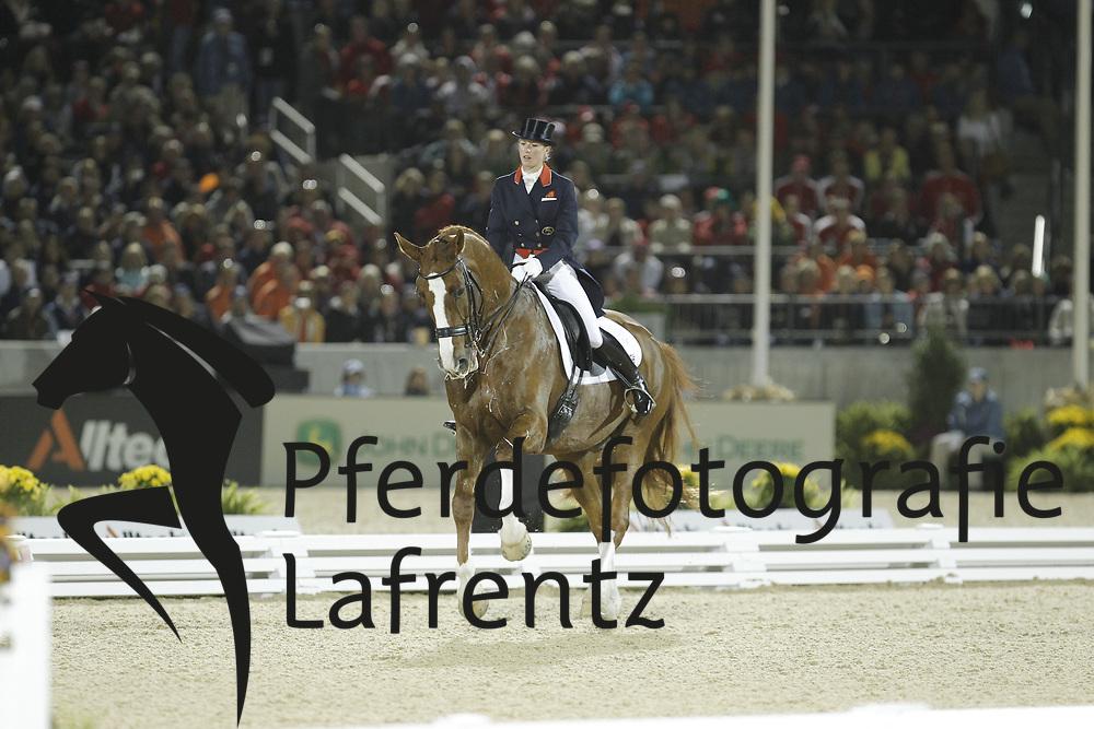 BECHTOLSHEIMER Laura, Mistral Hojris<br /> Kentucky - Alltech FEI WEG 2010<br /> /Stefan Lafrentz