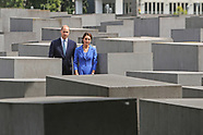 Duke & Duchess Of Cambridge At Holocaust Memorial