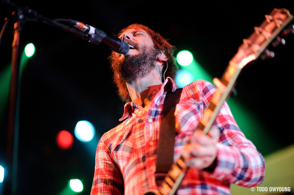 Photos of indie rock group Band of Horses performing at the Pageant in St. Louis on October 13, 2010.