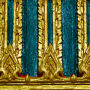 Temple detail at Wat Ko Proet, Laem Sing, Chantaburi, Thailand.