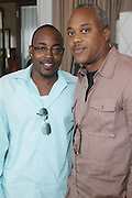l to r: Will Packer and Bernard Bronner at The ABFF Luncheon Hosted by HSBC and Rush Philanthropic Arts held at The Delano in Miami Beach on June 27, 2009..The American Black Film Festival is an industry retreat and competitve marketplace for films and by and about people of color.