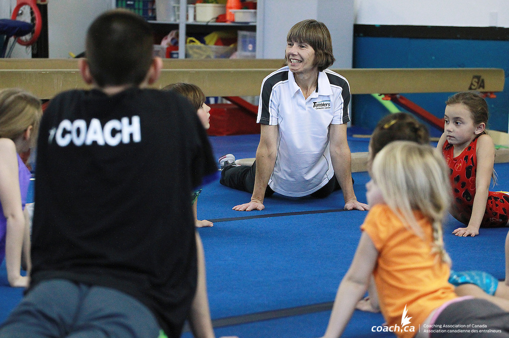 Coach Laurie Loh at Tumblers Gymnastics centre in Ottawa Feb 25, 2014. Photo: http://www.andreforget.com
