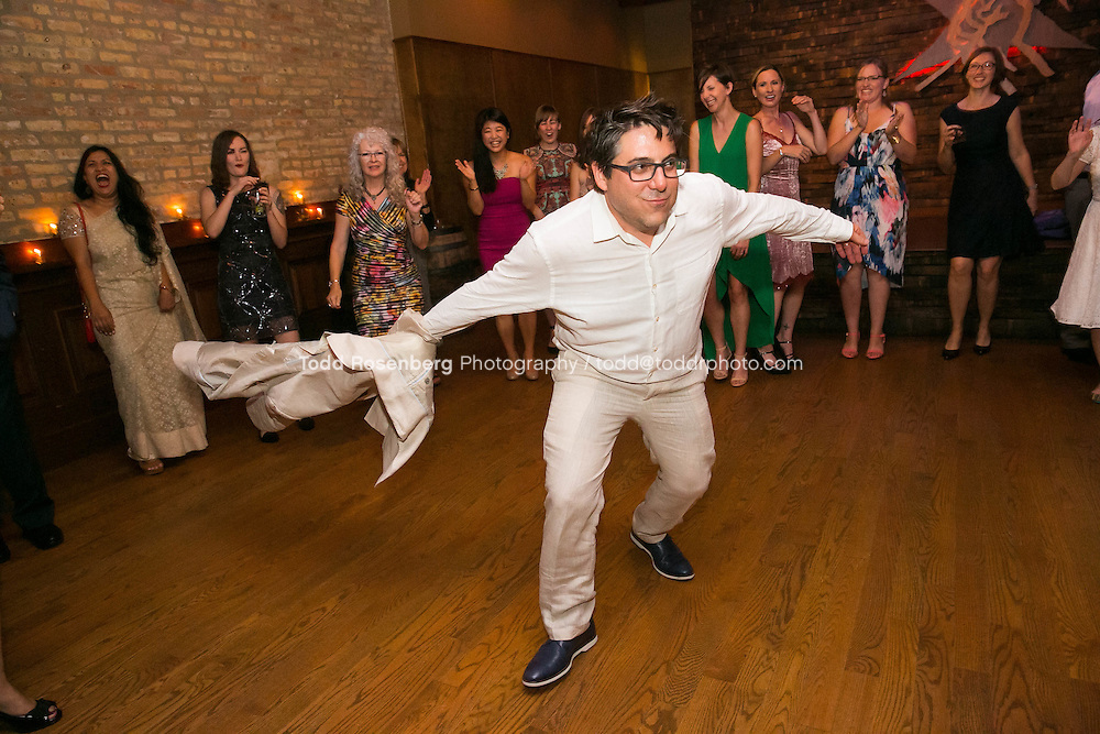 9/3/16 8:46:56 PM --  The wedding of Caroline Slack and Miles Maner at Revolution Brewing Co in Chicago, IL  © Todd Rosenberg Photography 2016