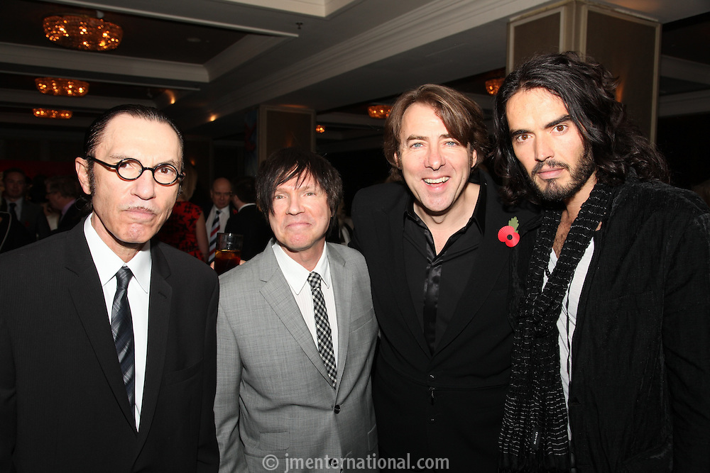 Ron Mael (Sparks), Russell Mael (Sparks),  Jonathan Ross and Russell Brand