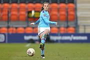 Manchester City Women midfielder Caroline Weir (19) during the FA Women's Super League match between Tottenham Hotspur Women and Manchester City Women at the Hive, Barnet, United Kingdom on 5 January 2020.