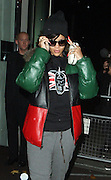 19.NOVEMBER.2012. LONDON<br /> <br /> RIHANNA LEAVING HER LONDON HOTEL AT 6.00AM TO HEAD TO NEW YORK AS PART OF HER LAST LEG OF HER 77 TOUR.<br /> <br /> BYLINE: EDBIMAGEARCHIVE.CO.UK<br /> <br /> *THIS IMAGE IS STRICTLY FOR UK NEWSPAPERS AND MAGAZINES ONLY*<br /> *FOR WORLD WIDE SALES AND WEB USE PLEASE CONTACT EDBIMAGEARCHIVE - 0208 954 5968*