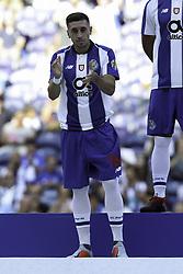 July 28, 2018 - Porto, Porto, Portugal - Porto's Mexican midfielder Hector Herrera during the Official Presentation of the FC Porto Team 2018/19 match between FC Porto and Newcastle, at Dragao Stadium in Porto on July 28, 2018. (Credit Image: © Dpi/NurPhoto via ZUMA Press)